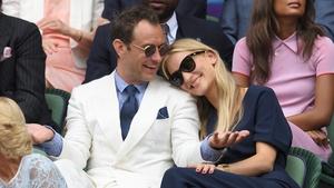 Jude Law and wife Phillipa Coan