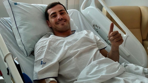 Goalkeeper Casillas Recovering Well After Heart Attack
