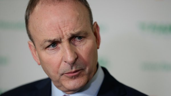 Speaking in Cork this evening, Micheál Martin said it is a matter for the Taoiseach