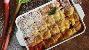 Shane Smith's Rhubarb Lattice Pie