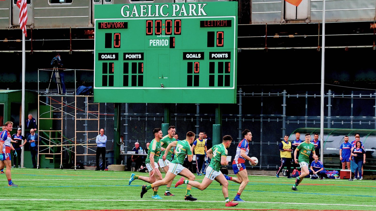 Image - New York hosted Leitrim in last year's Connacht SFC, Mayo are due on Sunday