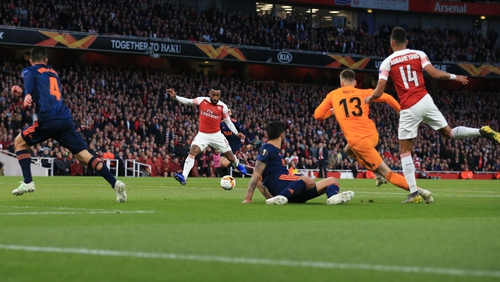 Valencia lost the first leg 3-1 at the Emirates