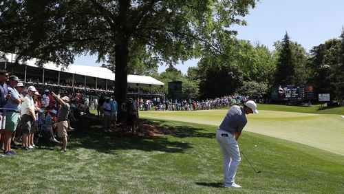 McIlroy shoots 66 to share first round lead at Wells Fargo