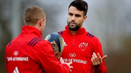 Keith Earls (L) and Conor Murray