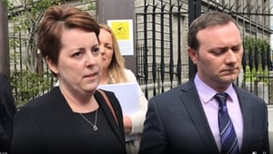 Ruth Morrissey and her husband Paul €2.1m damages award will not be affected by any appeals decision