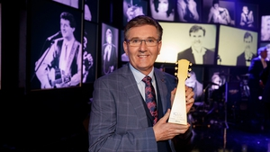 Daniel O'Donnell is the second Irish performer to receive the honour