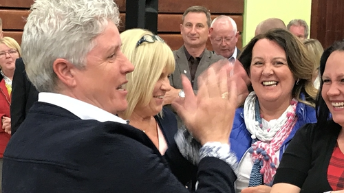 Alison Bennington (left) will sit on Antrim and Newtownabbey Borough Council