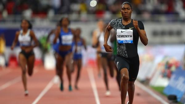Caster Semenya wins in Doha