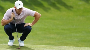 Rory McIlroy is in touch at the Wells Fargo International