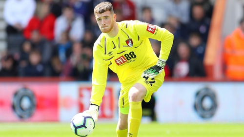 Mark Travers excelled against Spurs for Bournemouth