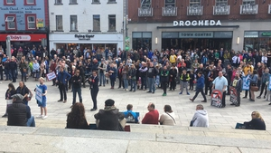 Speakers said Drogheda would overcome the current violence
