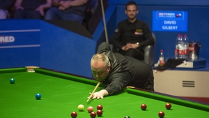 John Higgins is still on track to win a fifth world crown