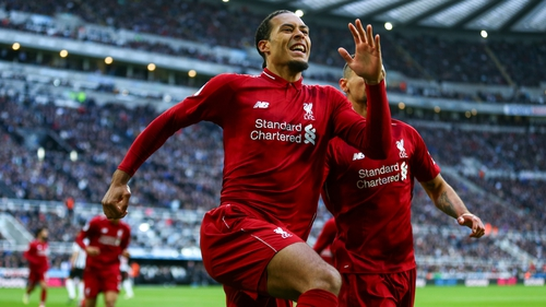 Virgil Van Dijk is up against Cristiano Ronaldo and Lionel Messi for the FIFA best awards
