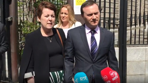 Ruth Morrissey and her husband successfully sued the HSE and two laboratories