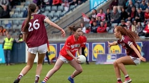 Cork's Eimear Scally tries to work some space at Parnell Park