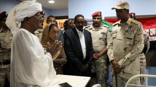 Sudan's military seek to build on a political breakthrough overshadowed by deadly shootings the US blamed on  generals