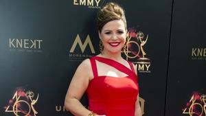 Catherine Fulvio at the 2019 Daytime Emmy Awards