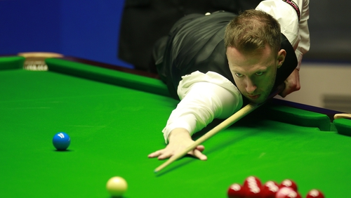 Judd Trump record a break of 101 in the second frame of his win over Ding Junhui