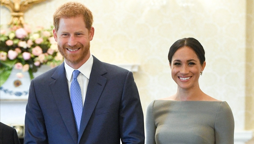 "The Duke and Duchess of Sussex said they are ""absolutely thrilled"""