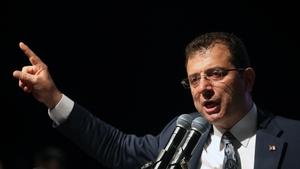 Ekrem Imamoglu said the re-run of the election was a 'treacherous decision'