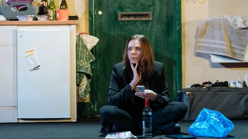 Samantha Womack hits rock bottom in The Girl on the Train