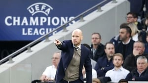Erik Ten Hag believes his side will be able to cope with the expectation on their shoulders
