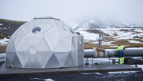 CarbFix researchers have turned the Hellisheidi geothermal power plant into their own laboratory
