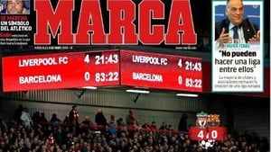 """""""Barcelona fail epically at Anfield"""""""