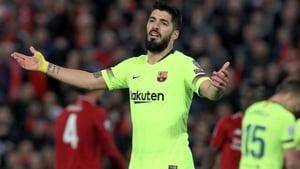 Luis Suarez's season looks like it's over