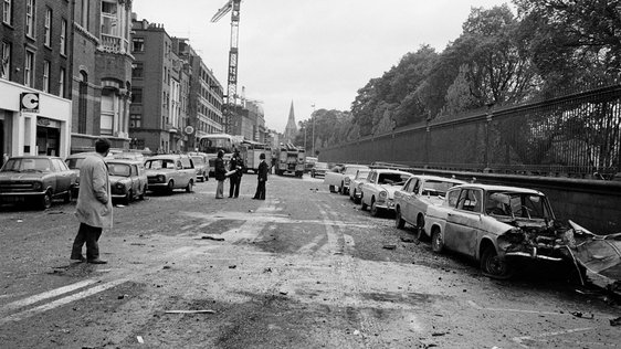 Dublin Bombings on South Leinster Street, 17 May 1974