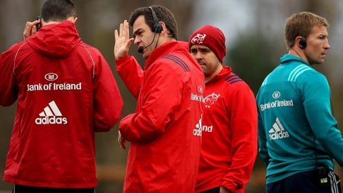 Munster are on the look-out for new coaches for next season