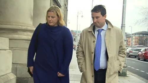 Miriam and Andrew Gillick pictured at the High Court in 2016