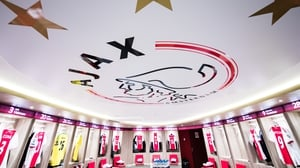 Ajax were top of the table on goal difference