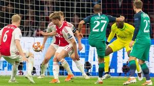 Lucas Moura scores Spurs' second goal