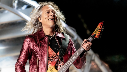Mad but true: Metallica guitarist falls onstage
