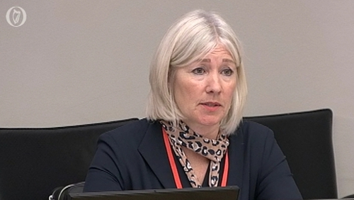 Ulster Bank CEO Jane Howard made her first appearance before the Oireachtas Finance Committee today