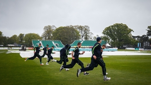 The Ireland-Bangladesh ODI has fallen victim to the weather