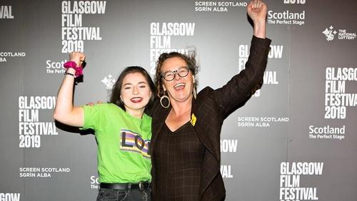 Hazel Doupe and Carmel Winters