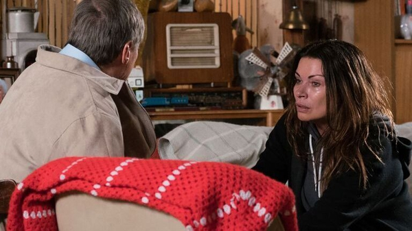 "Alison King as Carla - ""It shows with it happening to Carla that it can happen to anybody"""