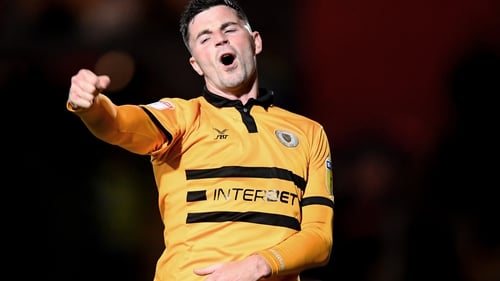 Padraig Amond levelled it up for Newport