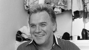 Comedian Freddie Starr in his dressing room at the Olympia Theatre, Dublin, Ireland, June 1993