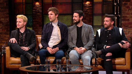 "Kodaline - ""See you all in June next year at Malahide Castle"""