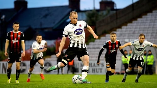 Chris Shields missed a penalty but Dundalk still ran out comfortable winners at Dalymount