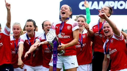 Arsenal are the Super League champions