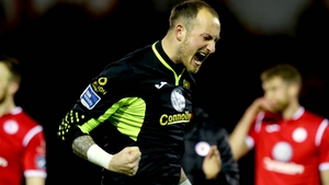 Mitchell Beeney saved a penalty for Sligo (file pic)