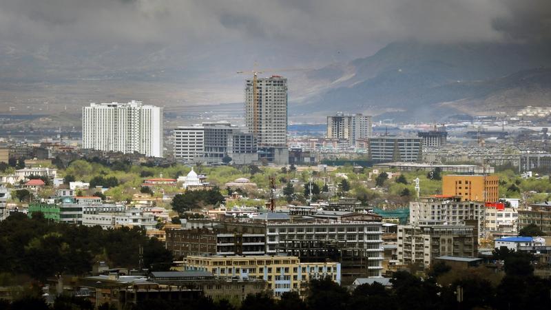 Cathair Kabul, an áit as ar fuadaíodh na gialla i 2016