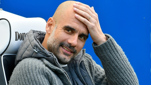 """Pep Guardiola: """"I'm so comfortable working with this club."""""""