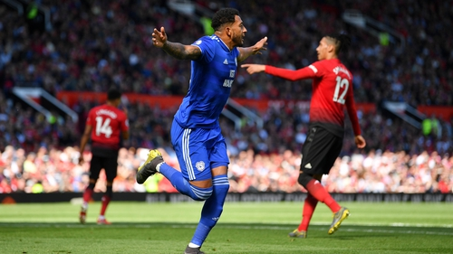 Nathaniel Mendez-Laing hit two as Cardiff City won at Old Trafford