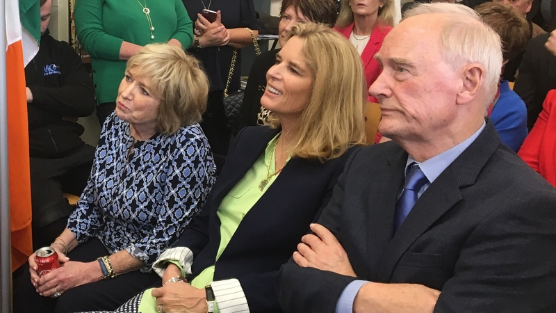 Kennedys attend 'Dear Dot' exhibition opening