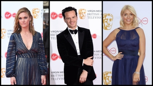 Red carpet fashion from the BAFTA TV awards in London last night.